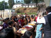 Cooking training conducted by Government of Meghalaya